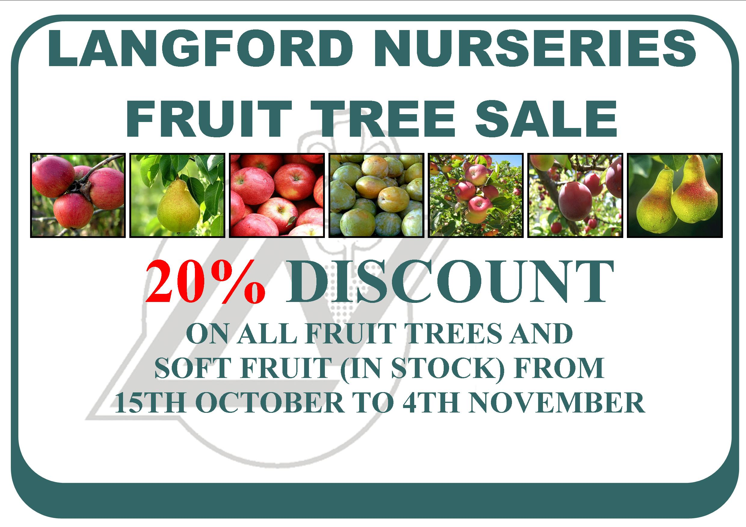 Langford Garden Centre Orchard Month