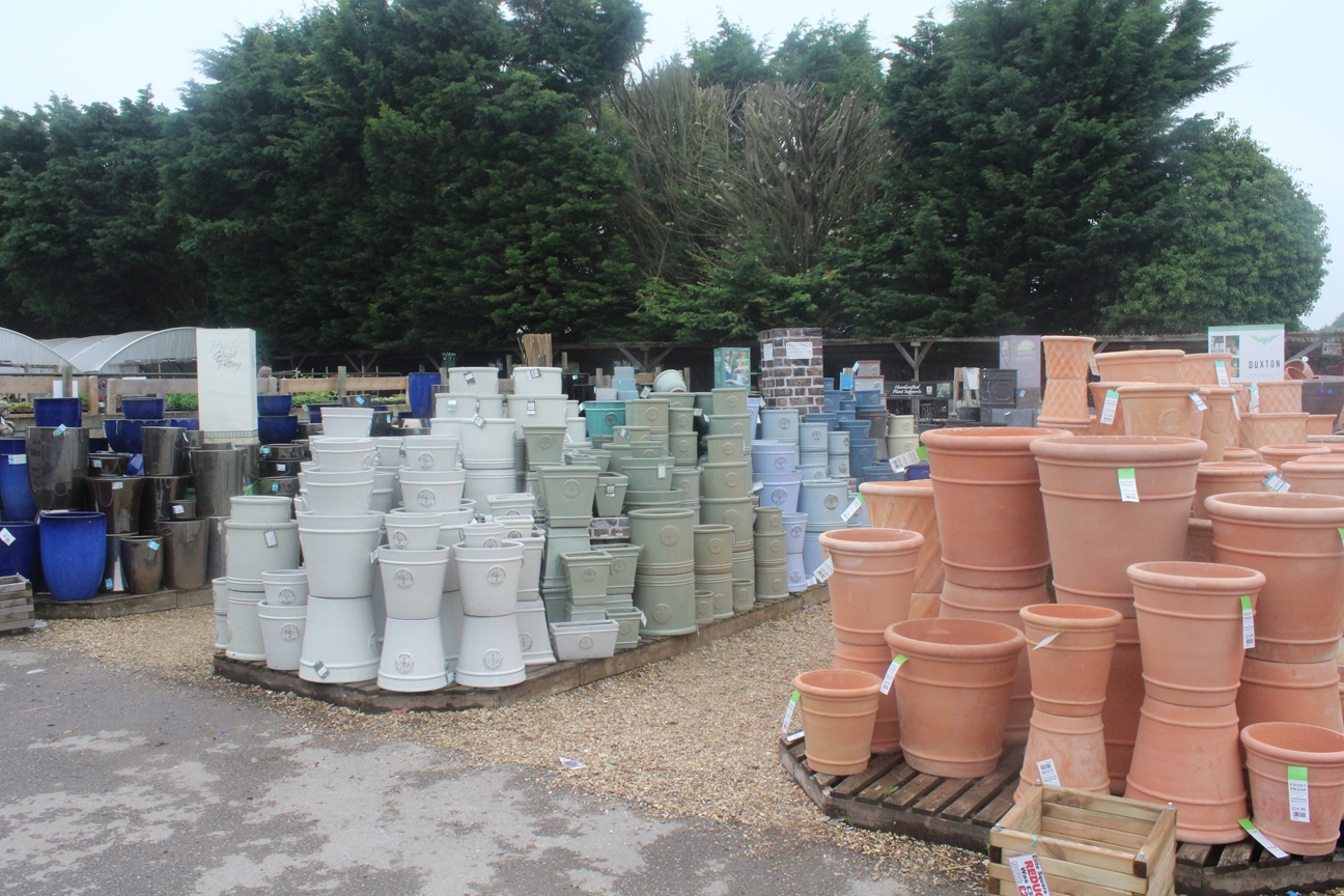 Outside pots 1