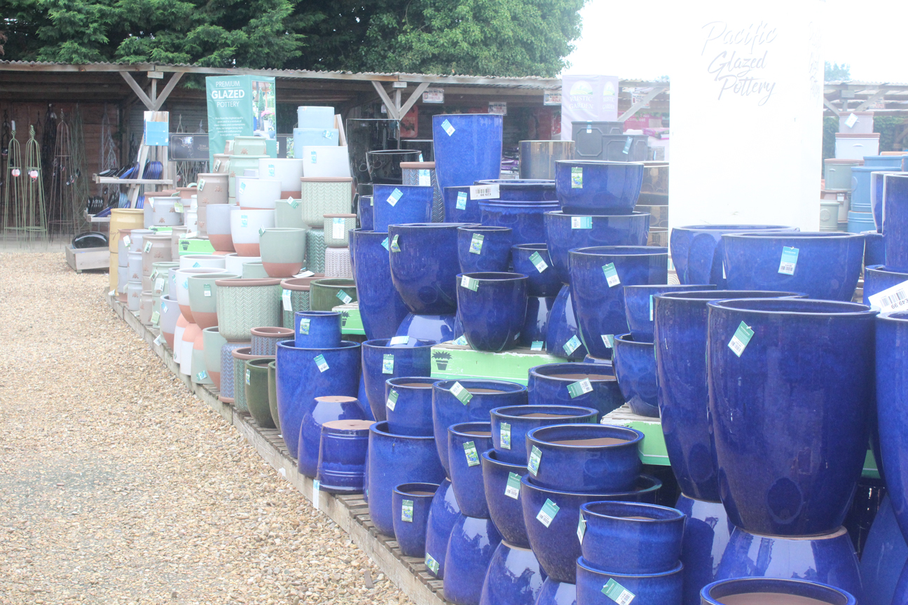 Outside pots 3